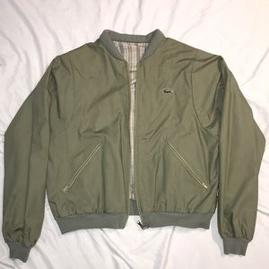 Reversible Lacoste Jacket